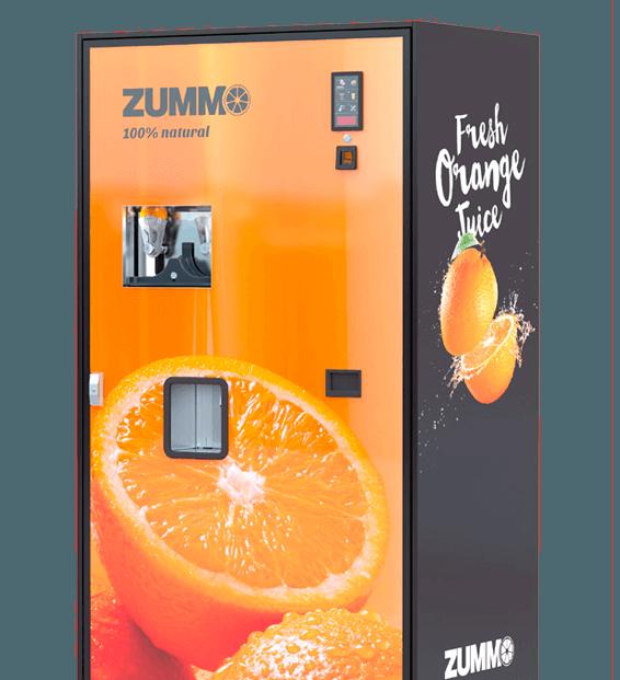 Varuautomat för färskpressad apelsinjuice